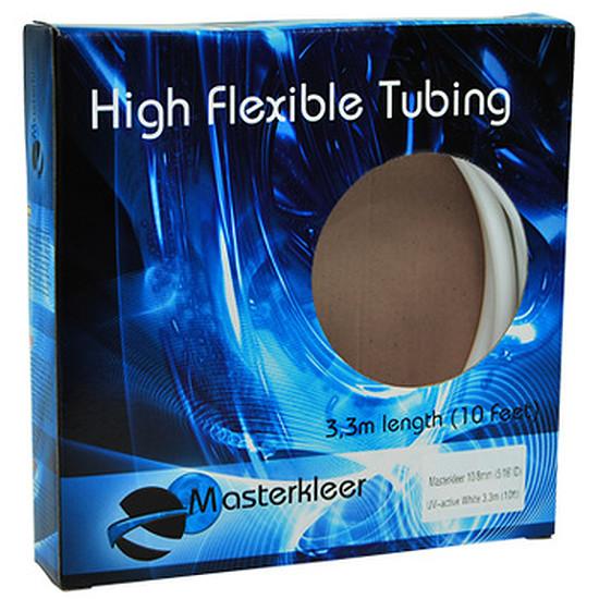 Watercooling MasterKleer Tuyau 10/13mm BLANC Réactif UV (3,3m)