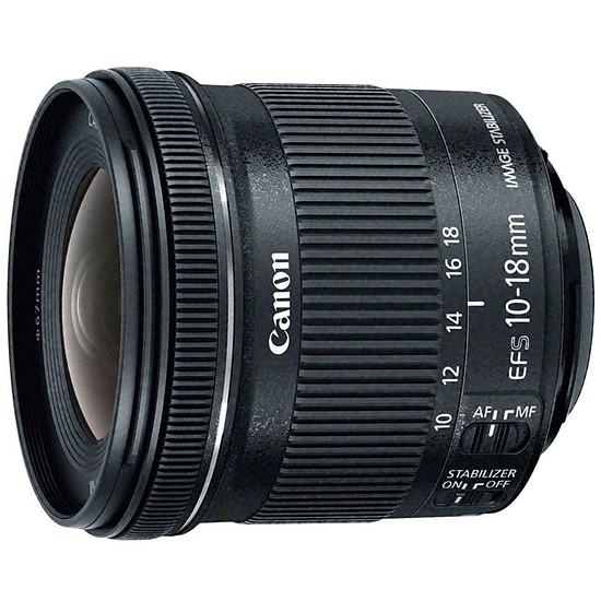 Objectif pour appareil photo Canon EF-S 10-18mm f/4.5-5.6 IS STM - Autre vue