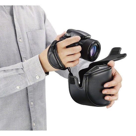 Sac, sacoche et housse Sony Étui pour Sony HX400 / HX350 - Autre vue