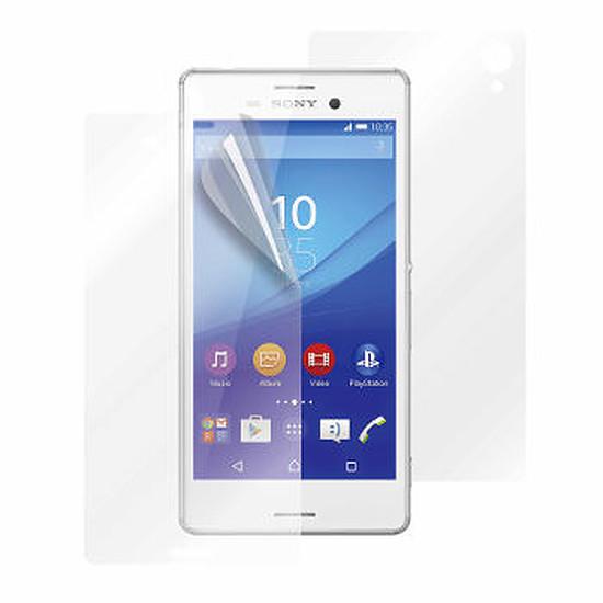 Protection d'écran Muvit Protection d'écran x3 - Sony Xperia M4 Aqua