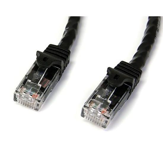 Câble RJ45 StarTech.com Cable reseau Cat6 Gigabit UTP de 10m - M/M - Noir - Autre vue