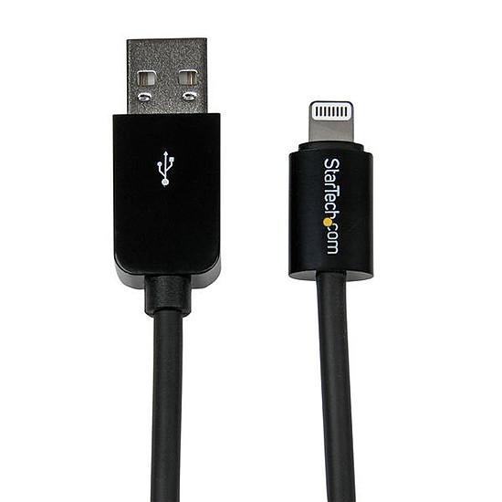 Adaptateurs et câbles StarTech.com Cable Apple Lightning vers USB de 3m - Noir - Autre vue