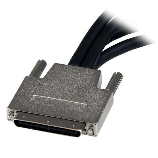 DVI StarTech.com Cable Repartiteur 1 VHDCI vers 4 DVI-D - M / F - Autre vue