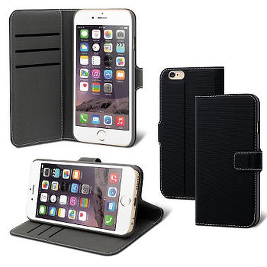 Coque et housse Muvit Etui wallet folio (noir) - iPhone 6/6s