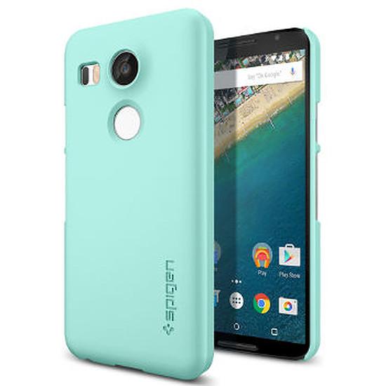 Coque et housse Spigen Coque Spigen Thin Fit (bleu)- Nexus 5X