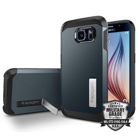 Coque et housse Spigen Coque Tough Armor (gris) - Galaxy S6