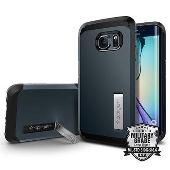 Coque et housse Spigen Coque Tough Armor (gris) - Galaxy S6 Edge