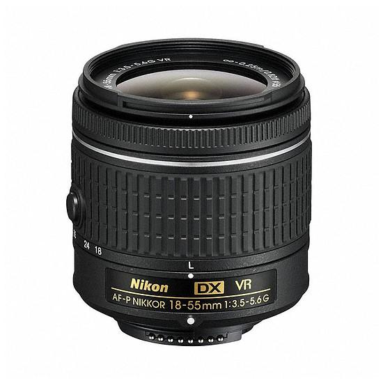 Objectif pour appareil photo Nikon AF-P DX 18–55mm f/3.5–5.6 G