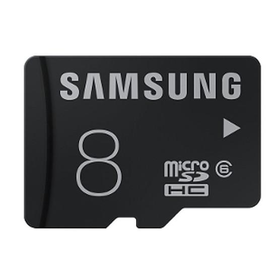 Carte mémoire Samsung Basic Micro SDHC 8 Go (Classe 6)