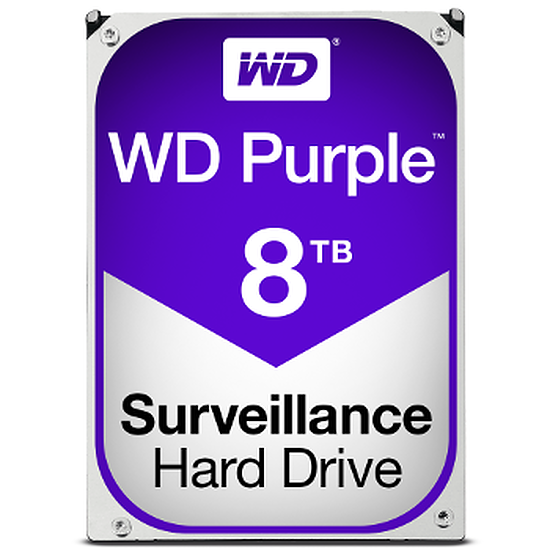 Disque dur interne Western Digital (WD) Purple - 8 To
