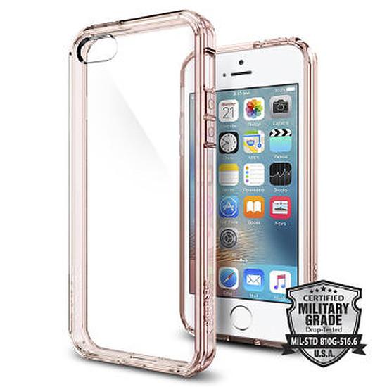 Coque et housse Spigen Coque Ultra Hybrid (rose) - iPhone SE