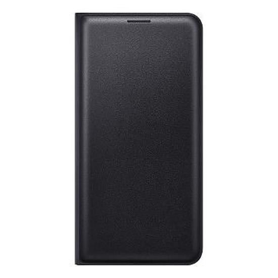 Coque et housse Samsung Flip Wallet Cover (noir) - Galaxy J5 2016