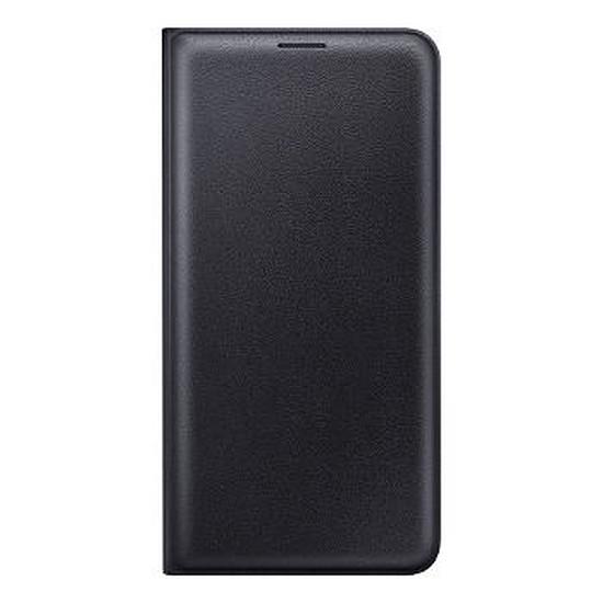 Coque et housse Samsung Flip Wallet Cover (noir) - Galaxy J7 2016
