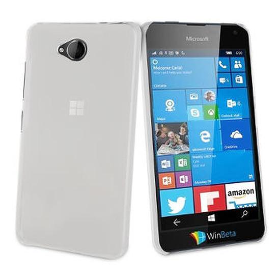 Coque et housse Muvit Coque Crystal case - Microsoft Lumia 650