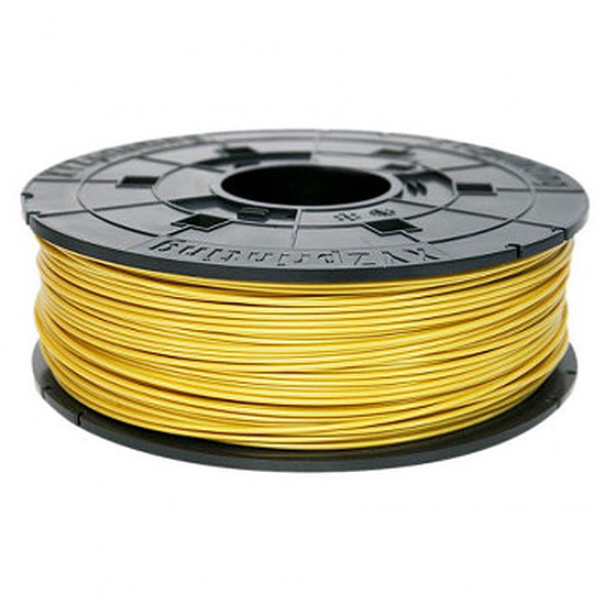 Filament 3D XYZprinting Cartouche de filament ABS, 600g, Jaune