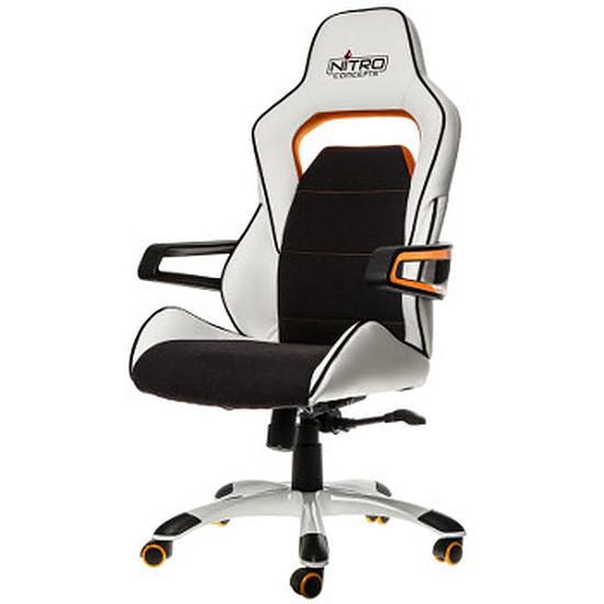 Fauteuil / Siège Gamer Nitro Concepts E220 Evo - Blanc/Orange