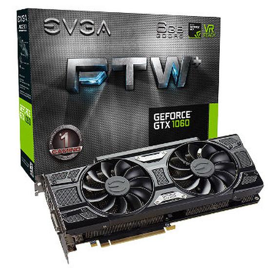 Carte graphique EVGA GeForce GTX 1060 FTW+ Gaming ACX 3.0 - 6 Go
