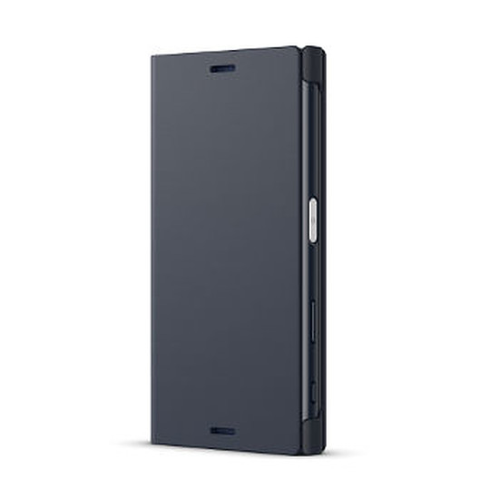 Coque et housse Sony Mobile Style cover stand (noir)- Xperia X compact