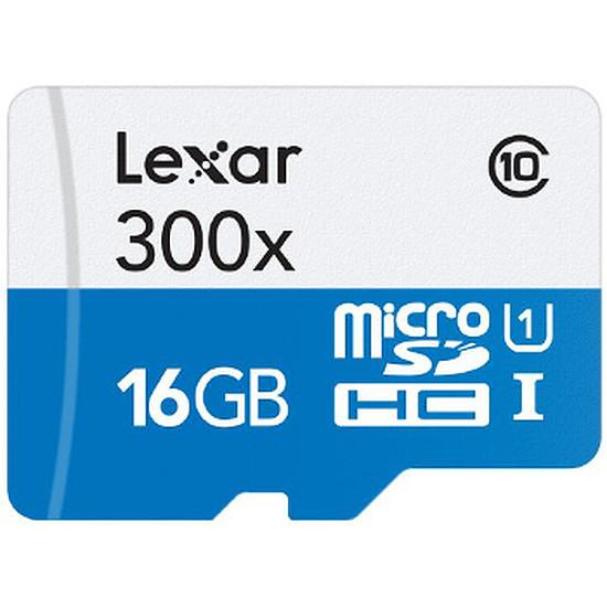 Carte mémoire Lexar Standard SDHC 16 Go 300x