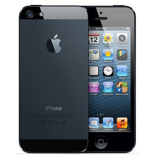 Smartphone et téléphone mobile again iPhone 5 (noir) - 16 Go - Reconditionné à neuf