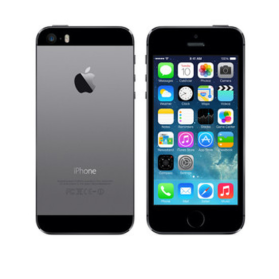 Smartphone et téléphone mobile again iPhone 5s (gris sidéral) 16Go Reconditionné à neuf