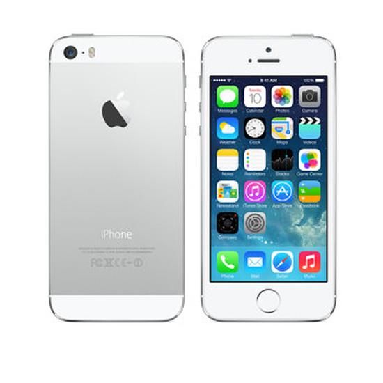 Smartphone et téléphone mobile again iPhone 5s (argent) 16 Go - Grade A