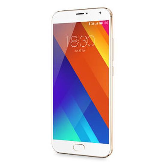 Smartphone et téléphone mobile Meizu MX5 - 32 Go (or)