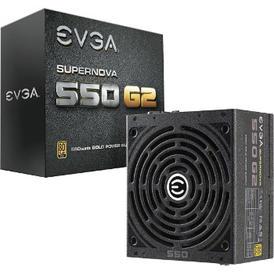 Alimentation PC EVGA SuperNOVA 550 G2 Modulaire - 550W