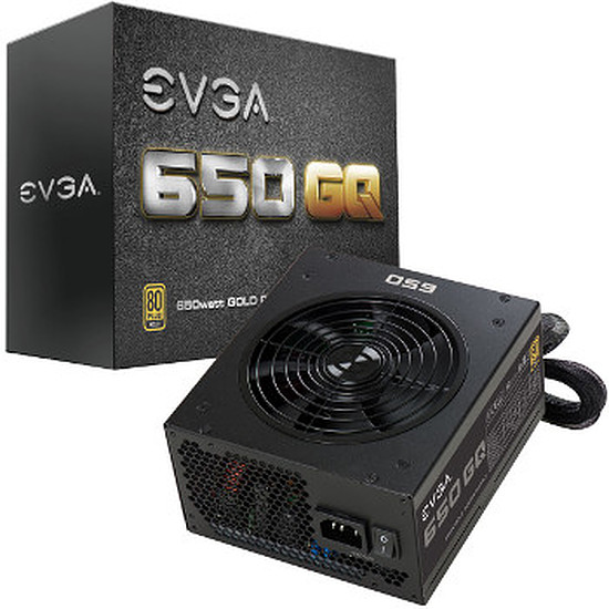 Alimentation PC EVGA SuperNOVA GQ 650W