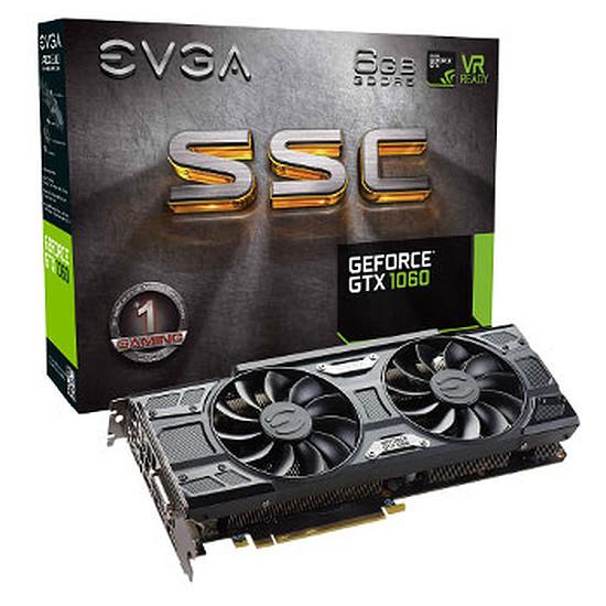 Carte graphique EVGA GeForce GTX 1060 SSC Gaming - 6 Go