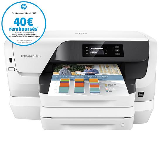 Imprimante jet d'encre HP Officejet Pro 8218 - Autre vue
