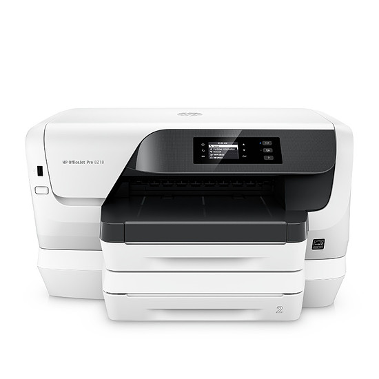 Imprimante jet d'encre HP Officejet Pro 8218 - Occasion - Autre vue