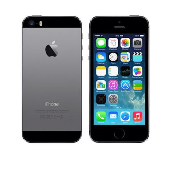 Smartphone et téléphone mobile again iPhone 5s (gris sidéral) - 32 Go - iPhone reconditionné