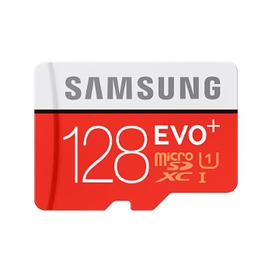 Carte mémoire Samsung Evo Plus SDXC 128 Go (80Mo/s) + adaptateur SD