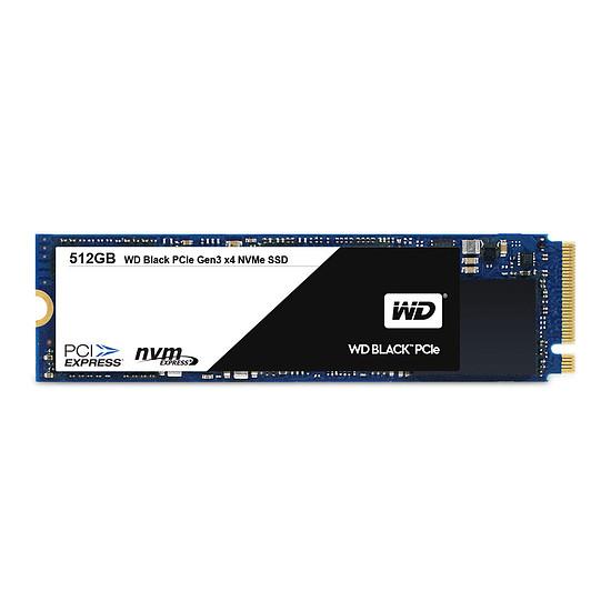 Disque SSD Western Digital (WD) Black - 512 Go