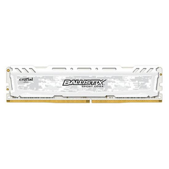 Mémoire Ballistix Sport LT White DDR4 8 Go 2400 MHz CAS 16 SR