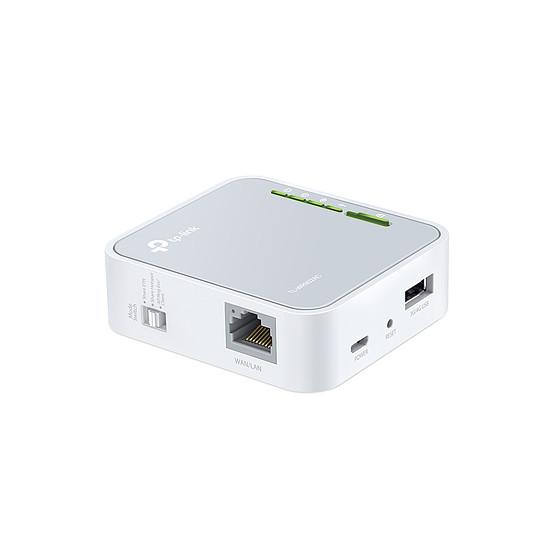 Routeur et modem TP-Link TL-WR902AC - Routeur portable WiFi AC750 bi-bande  - Autre vue
