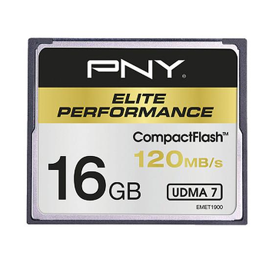 Carte mémoire PNY CompactFlash 16 Go (120 Mo/s)