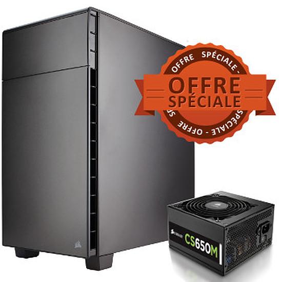 Boîtier PC Corsair Carbide Quiet 600Q + alimentation Corsair CS650M