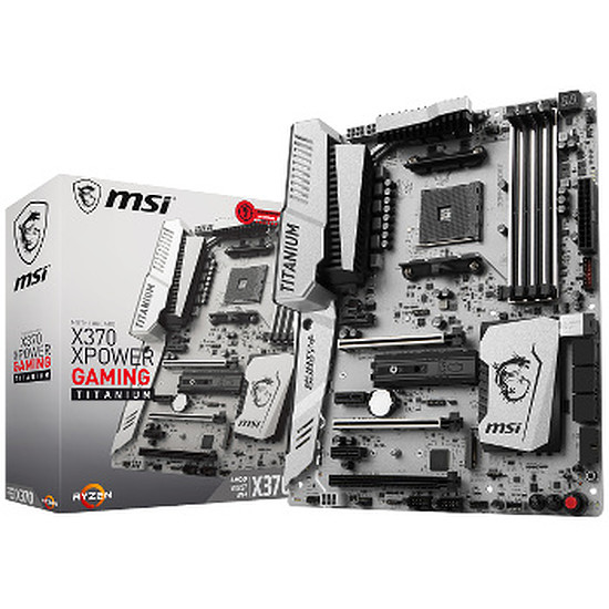 Carte mère MSI X370 XPOWER GAMING TITANIUM