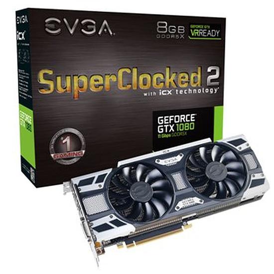 Carte graphique EVGA GeForce GTX 1080 SC2 Gaming iCX - 8 Go