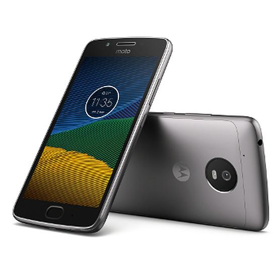 Smartphone et téléphone mobile Lenovo Moto G5 (gris)