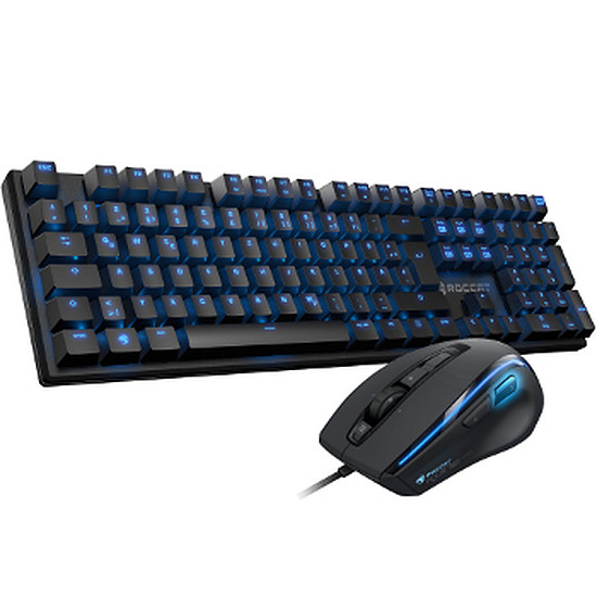 Pack clavier-souris Gaming Roccat Suora + Kone XTD