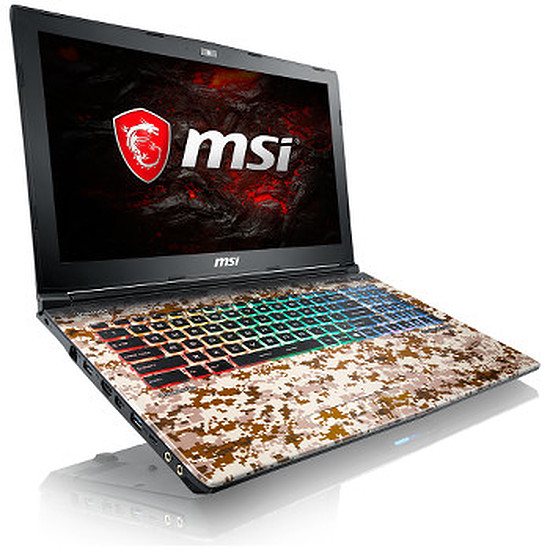 PC portable MSI GE62 7RE-811FR