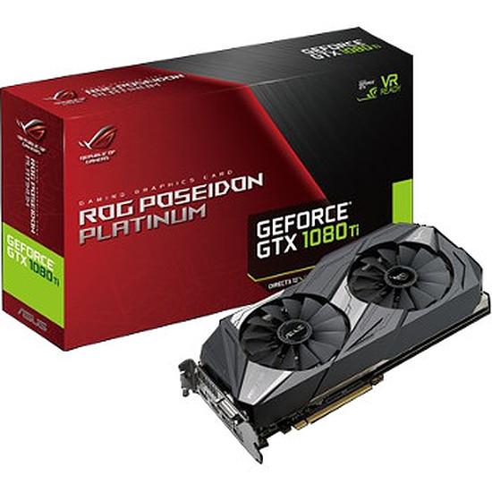 Carte graphique Asus GeForce GTX 1080 Ti ROG Poseidon - 11 Go