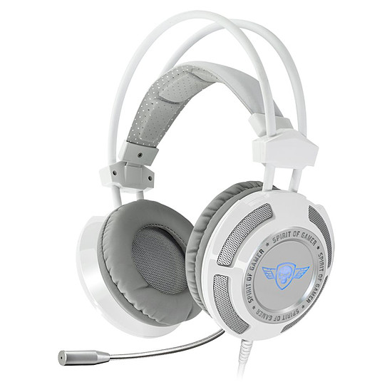 Casque micro Spirit Of Gamer ELITE-H70 - Blanc