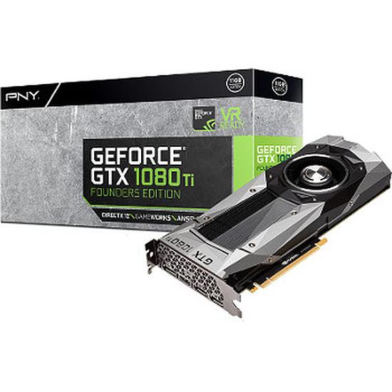 Carte graphique PNY GeForce GTX 1080 Ti Founders Edition - 11 Go