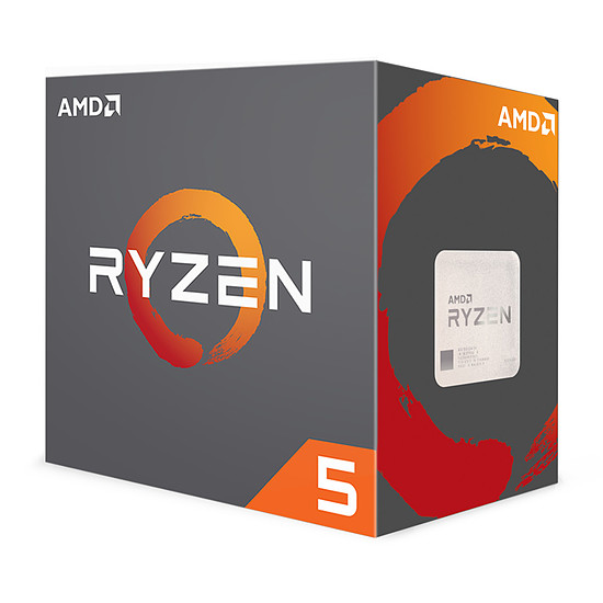 Processeur AMD Ryzen 5 1600X (3,6 GHz)