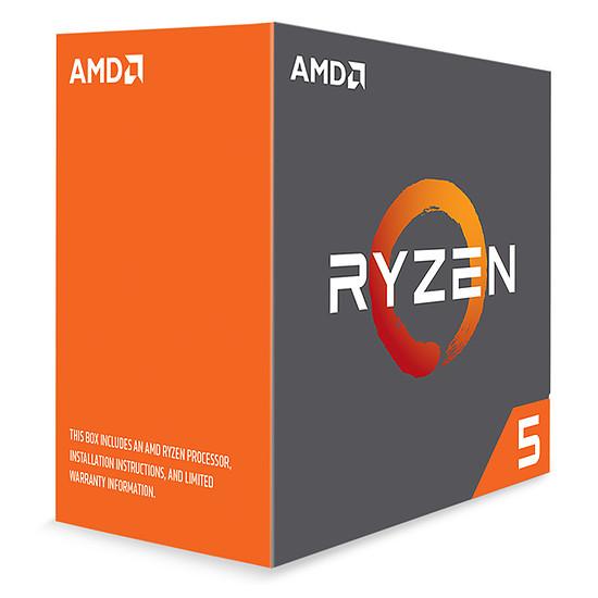 Processeur AMD Ryzen 5 1600X (3,6 GHz) - Autre vue