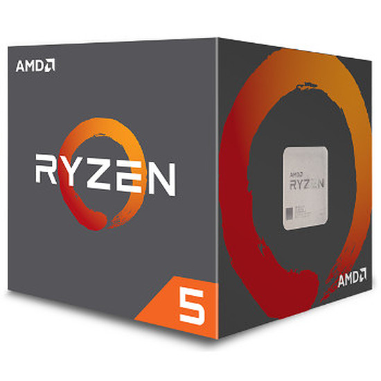 Processeur AMD Ryzen 5 1600 Wraith Spire Edition (3,2 GHz)